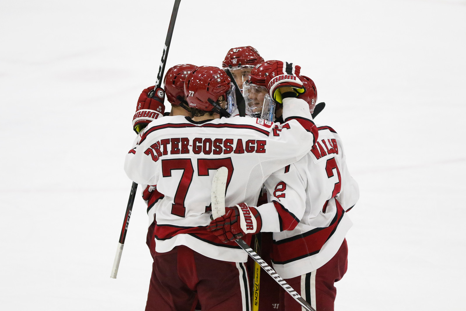 While the Crimson only captured two of the desired four standings points, importantly it has clinched a first-round bye in the ECAC playoffs.