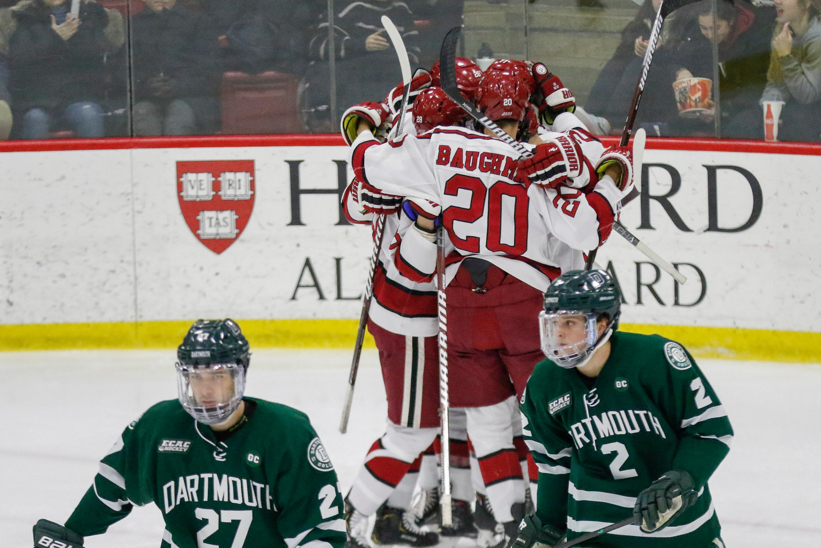 Despite its hot start to game two, Dartmouth could not maintain its fiery play to force a deciding game three on Sunday afternoon.