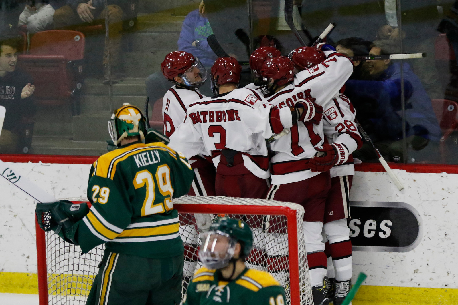 The Crimson may benefit from the extra time and space allotted by the Olympic-sized ice sheet at Lake Placid's Herb Brooks Arena.