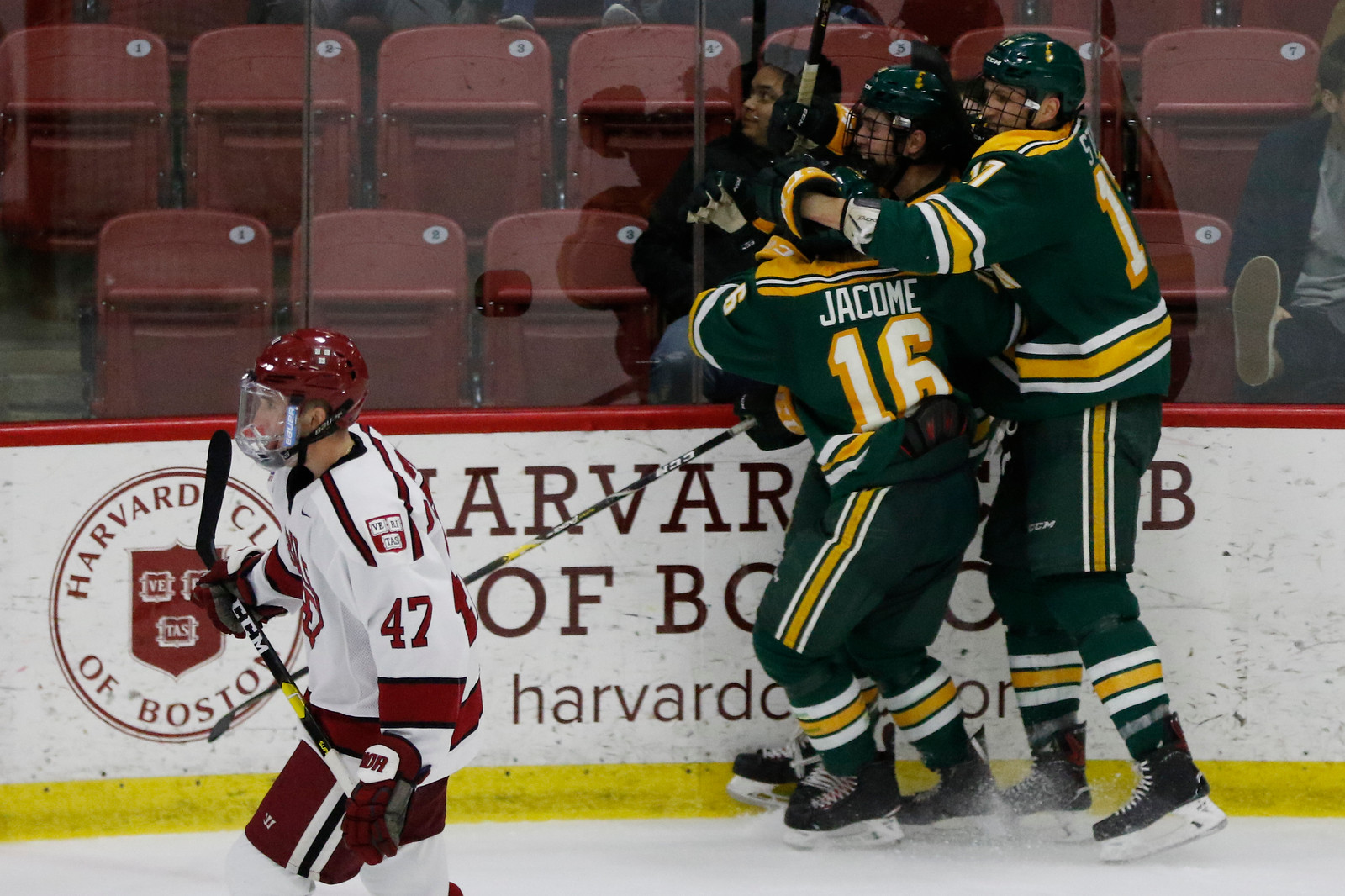 The Golden Knights ended the Crimson's ECAC playoff run, but Harvard still managed to clinch an NCAA Tournament berth due to its impressive season-long performance.