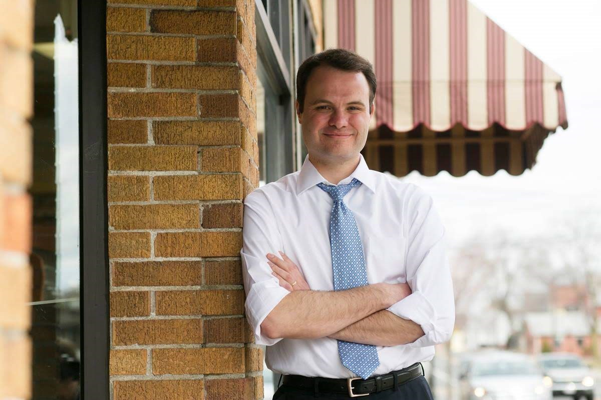 Eric P. Lesser '07 is one of the youngest members of the Massachusetts State Senate.