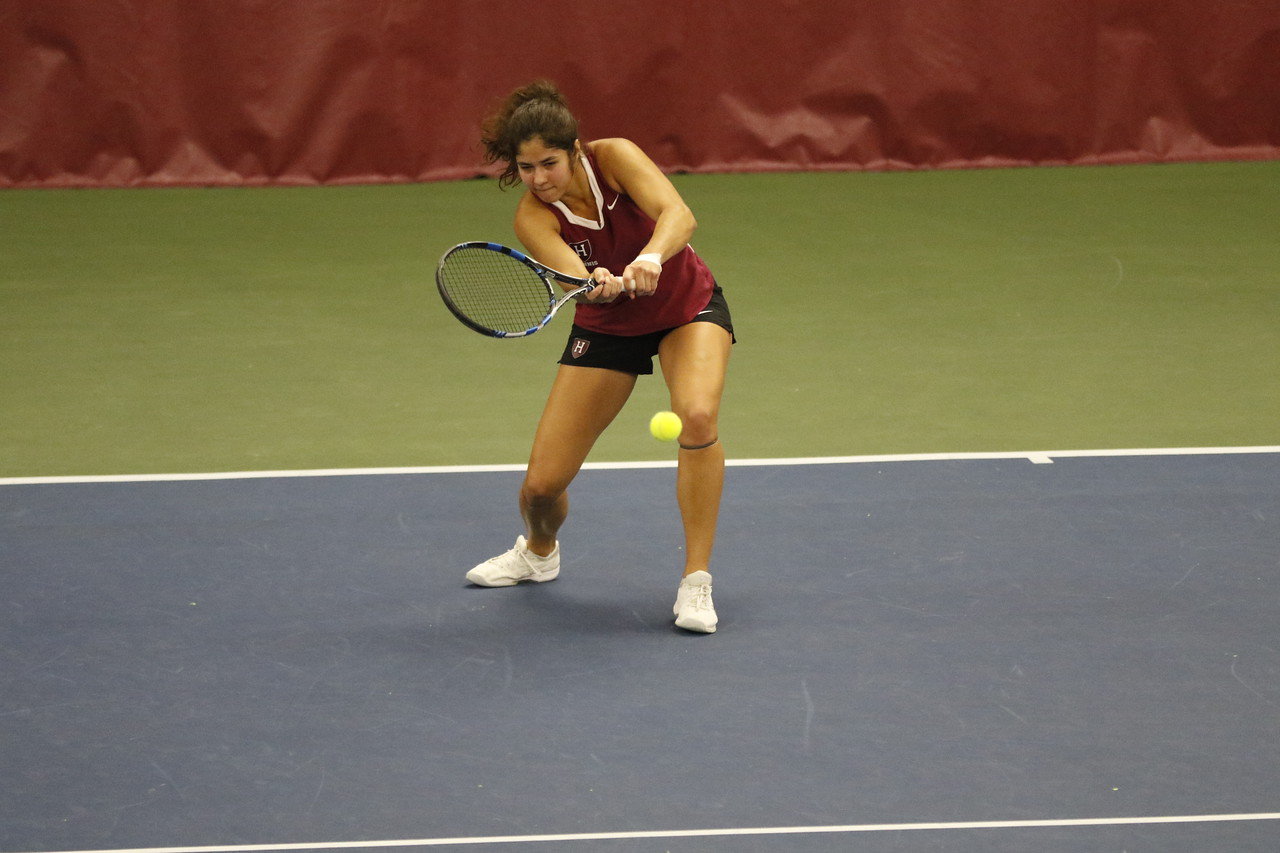 Both Harvard Men's and Women's Tennis dominated the weekend, only dropping one collective loss to the Princeton Tigers.