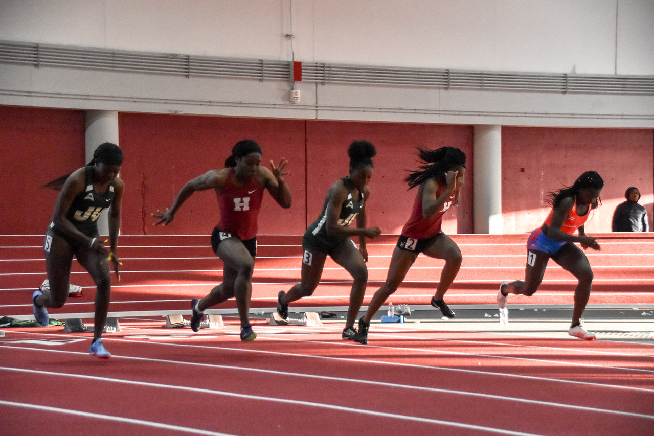 Harvard men's and women's track teams clocked in strong performances at Yale.
