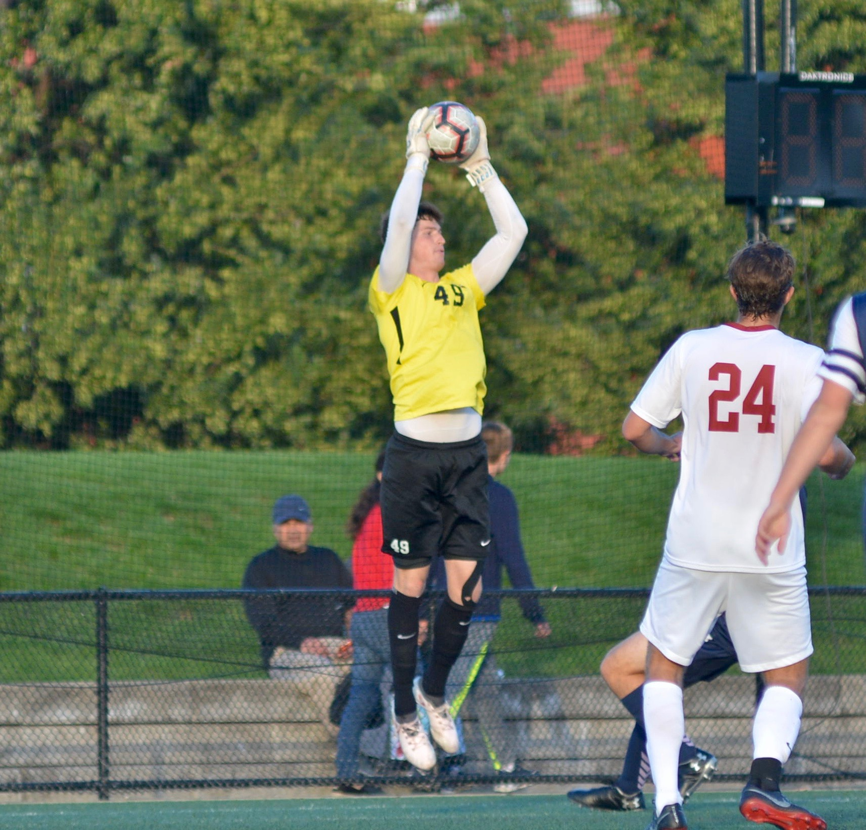 Freese cemented his spot as the Crimson's starting keeper in his sophomore season.
