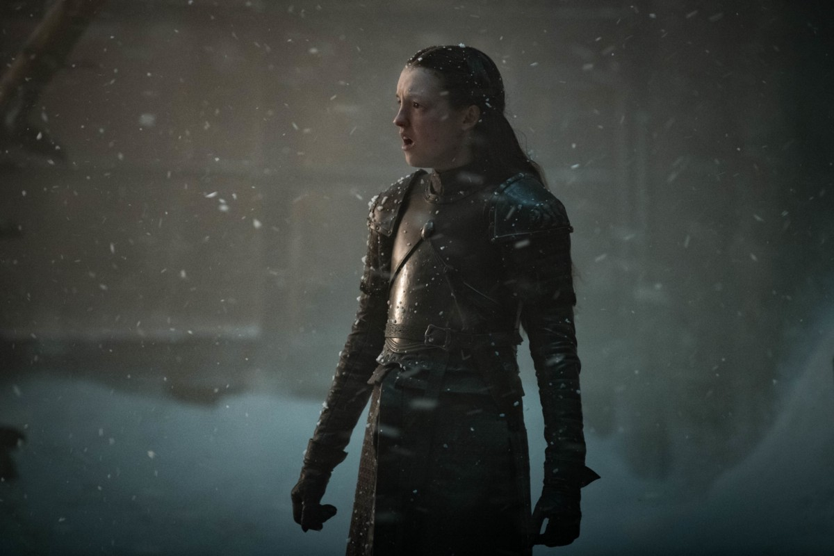 "Bella Ramsey as the young noblewoman Lyanna Mormont in ""Game of Thrones."""