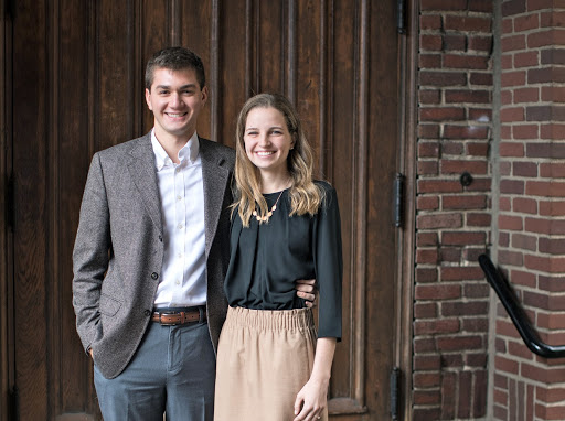 Meredith A. Jones '19 and Victor A. Mezacapa '18