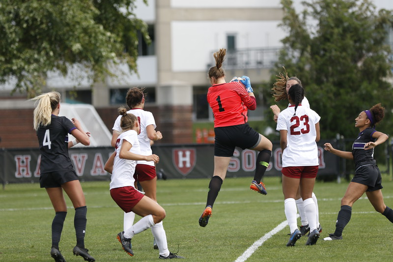 Thanks to superior defense and the work of senior goalkeeper Kat Hess, the Crimson were able to shutout Northwestern.
