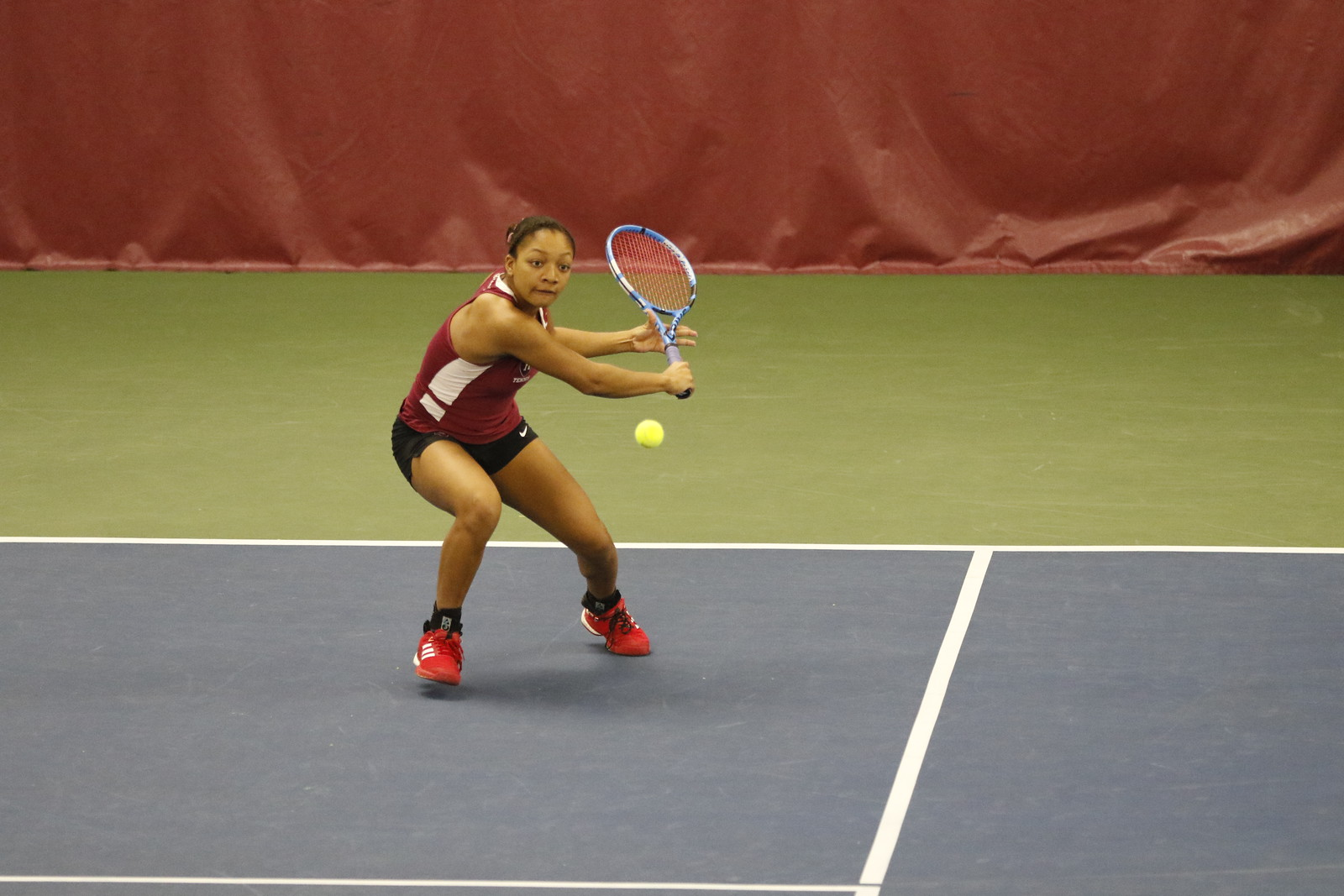 The Crimson got off to a hot start to kickoff its season.
