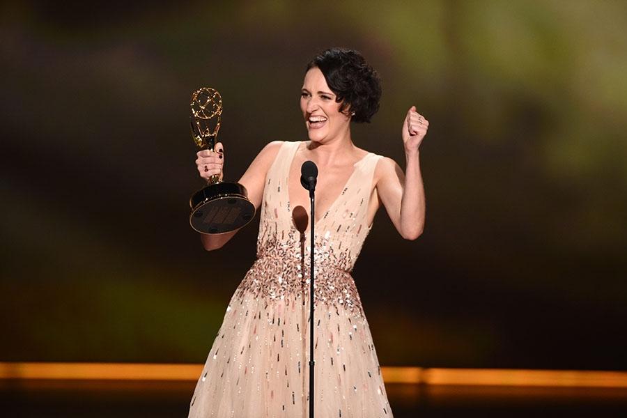 Phoebe Waller-Bridge at Emmy Awards