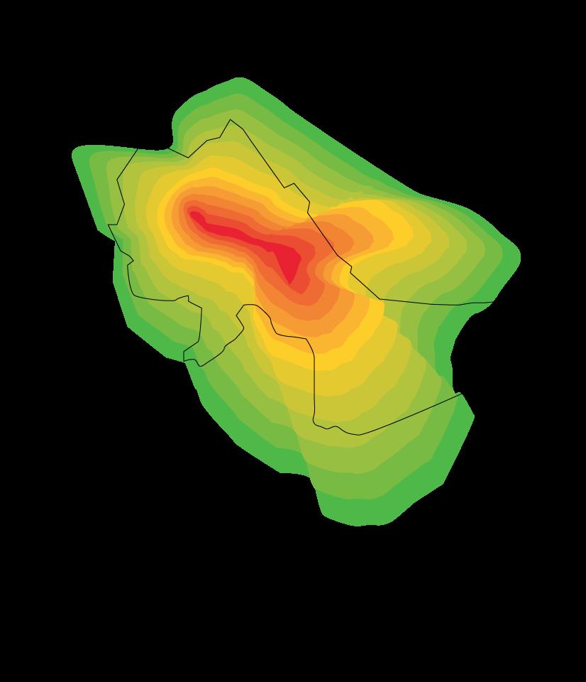 ShotSpotter Heat Map