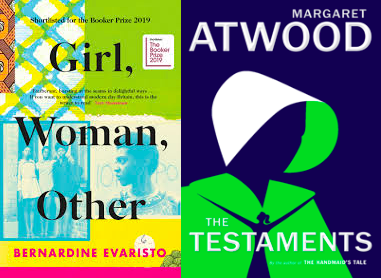 Girl, Woman, Other and The Testaments Cover