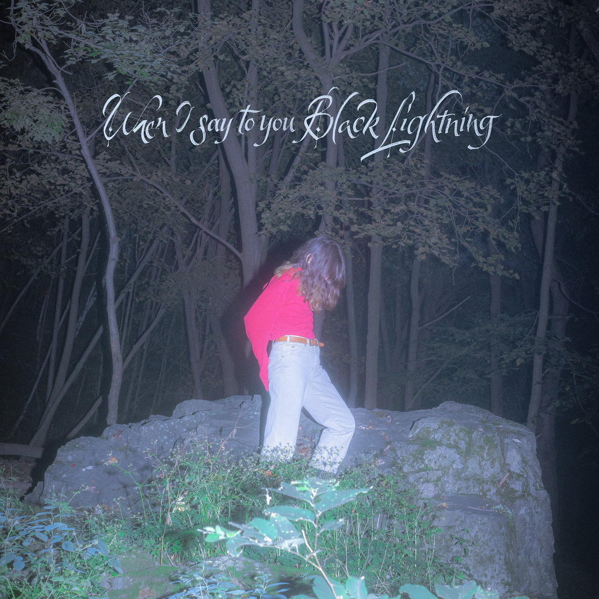 """Album art for Common Holly's """"When I say to you Black Lightning."""""""
