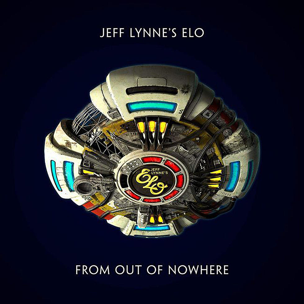 """Album art for Jeff Lynne's ELO's """"From Out of Nowhere."""""""