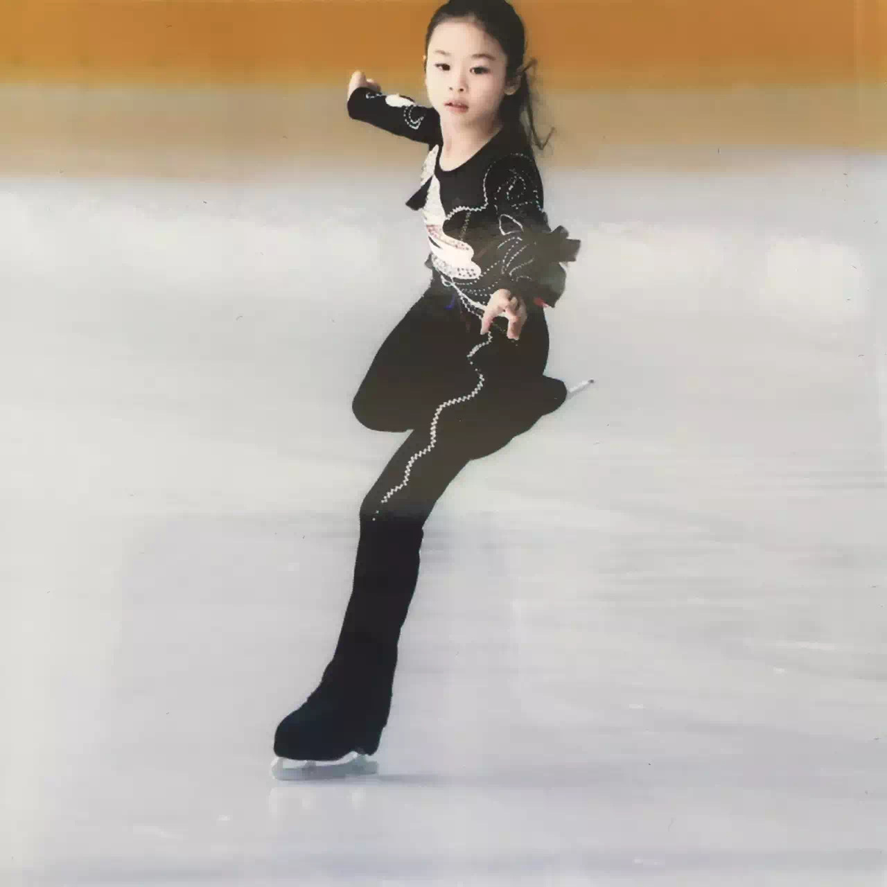 Yan noted similarities between the sport of figure skating and golf.