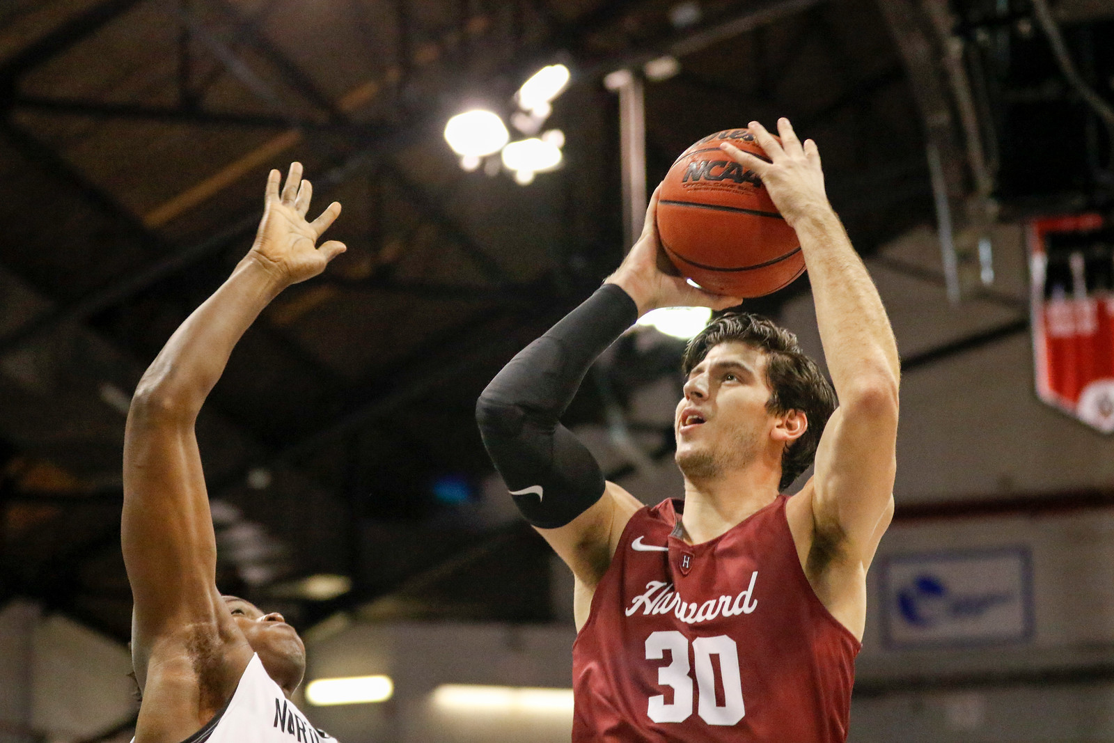 Harvard rallied for much of the second half but to no avail.