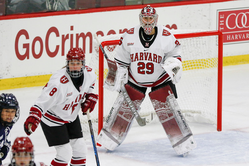 The Crimson cruised against No. 7 Princeton and topped Quinnipiac in overtime this past weekend.
