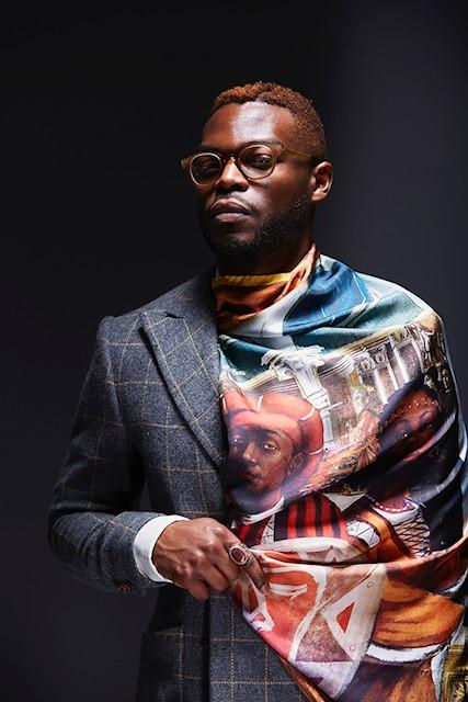 "Walé Oyéjidé is a lawyer, fashion designer, and creative director whose fashion work was featured in the movie ""Black Panther."""
