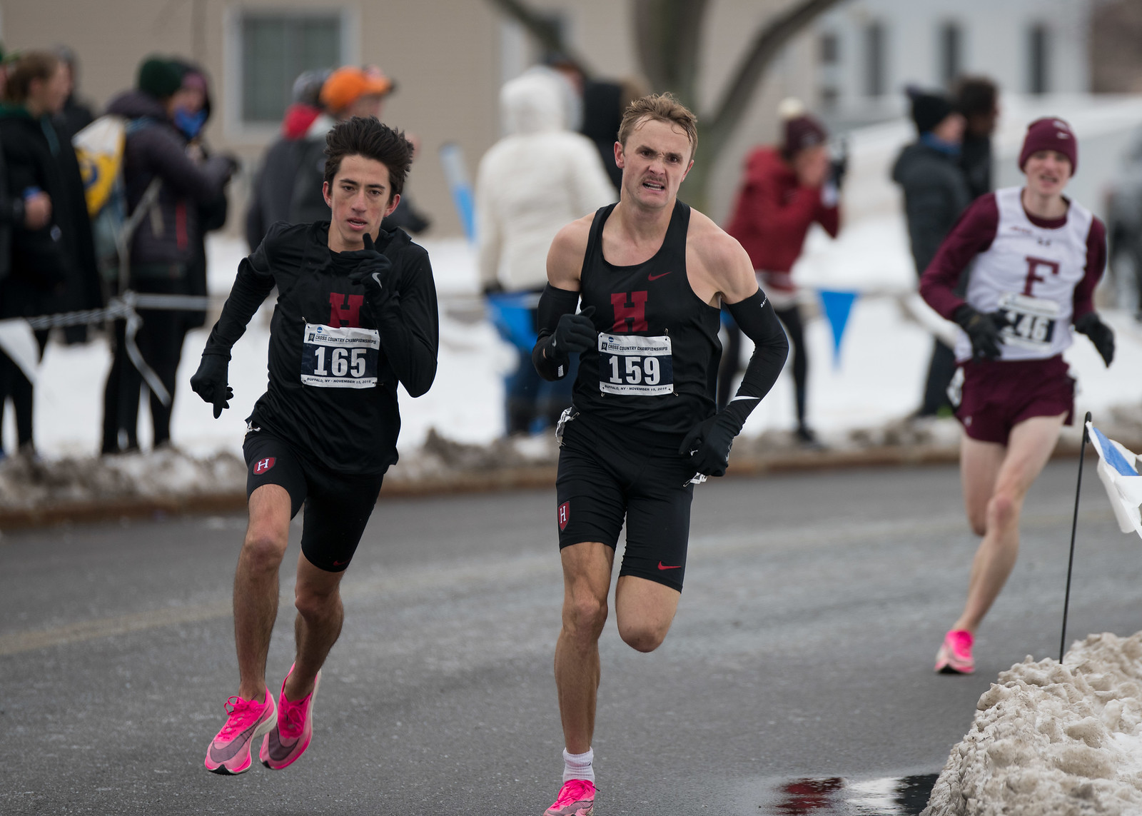 The Crimson men also finished the highest among Ivy League competitors.