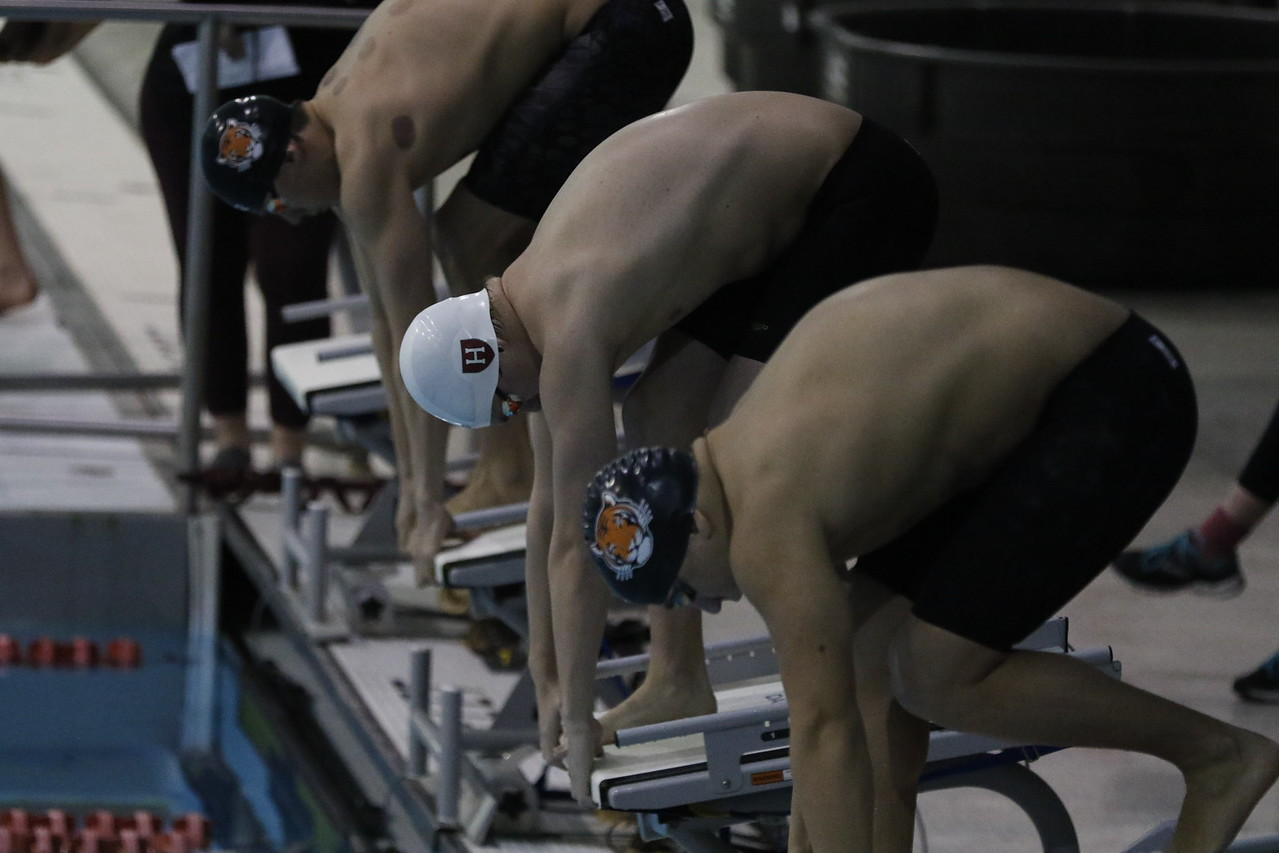 Men's swimming and diving swept their competition this weekend.