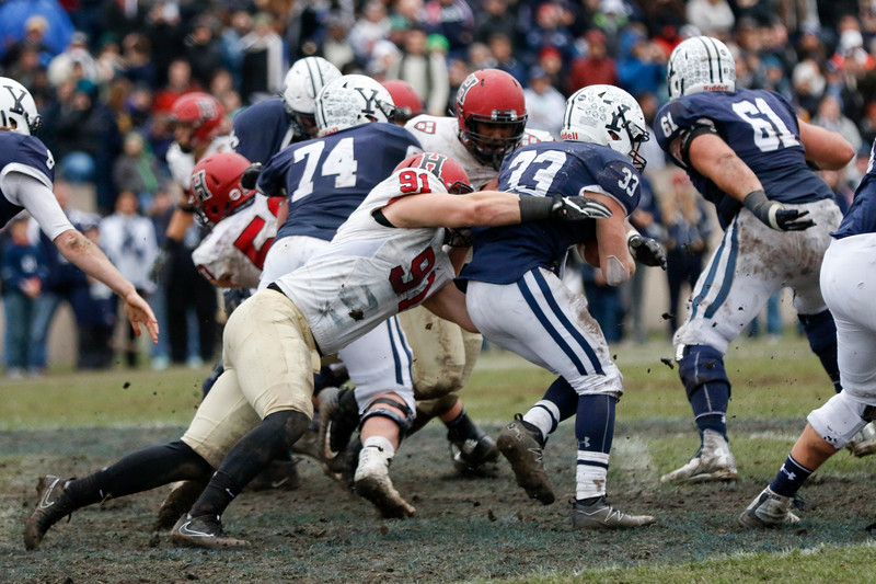 Last time The Game was held in the Yale Bowl, nasty field conditions led to a muddy slugfest. This time around, the Bulldogs host the Crimson on pristine turf.