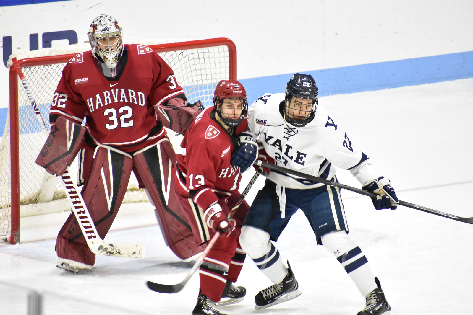 Harvard-Yale matchups promise to be hard-fought, physical, and fast-paced, irrespective of the teams' records entering a given contest.