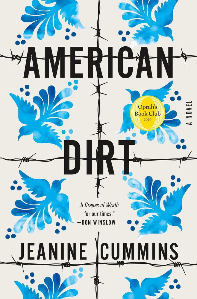 "Cover of ""American Dirt."""