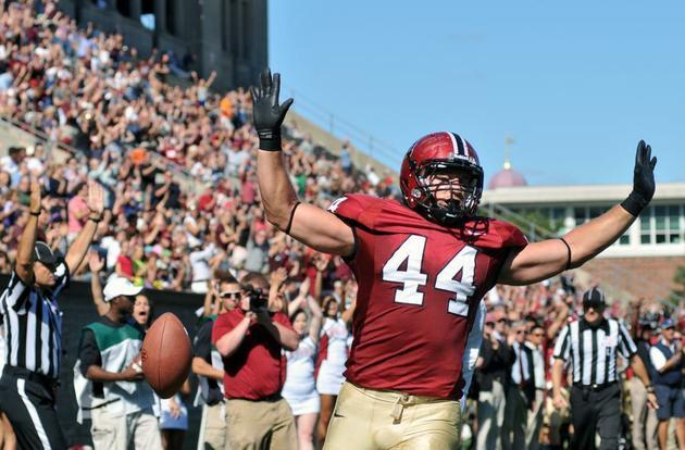 San Francisco 49ers fullback and former Harvard standout Kyle Juszczyk '13 will start in Super Bowl LIV in Miami this Sunday.