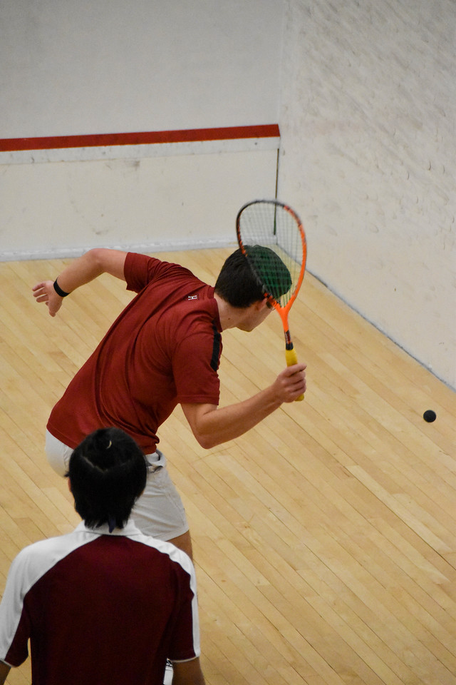The Harvard men's squash team has won 25 consecutive matches, dating back to the beginning of last season.