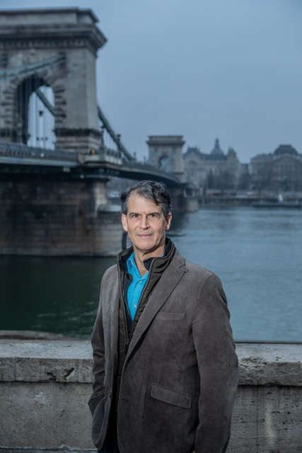 Dr. Eben Alexander at a recent conference in Budapest, Hungary.