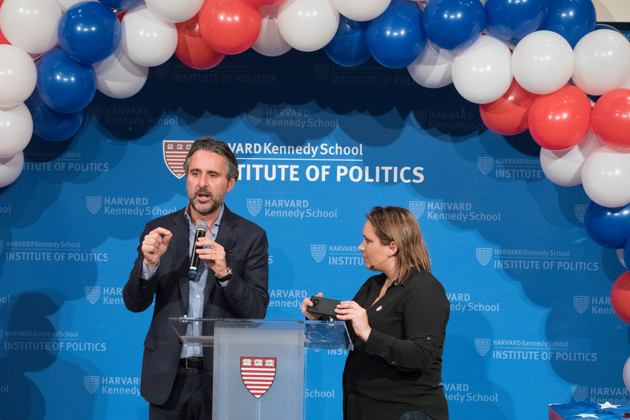 John Della Volpe is the Director of Polling at the Harvard Kennedy School Institute of Politics whose research has focused on the public opinion of American youth since 2000.