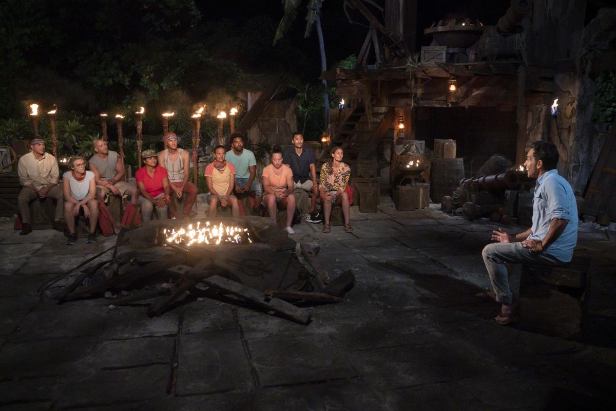 The Tribal Council on Survivor: