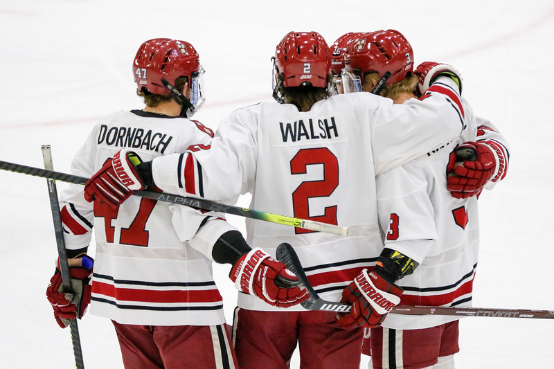 On Friday, the Crimson will skate in the ECAC tournament's first round for the first time since 2016, when it ran the table and won the Whitelaw Cup.