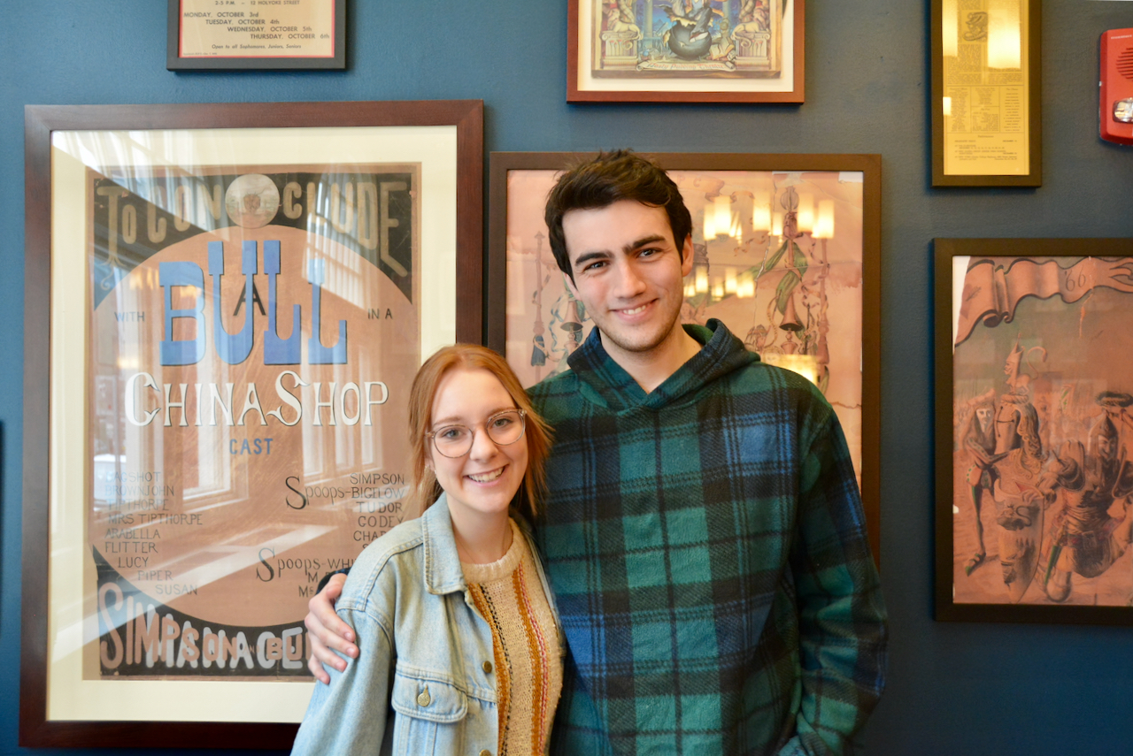 """Jessica M. Moore '21 and Jakob L. Gilbert '21 wrote the Hasty Pudding Theatricals' 2020 spring show, """"Mean Ghouls,"""""""