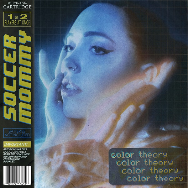 "The album cover for Soccer Mommy's ""color theory."""