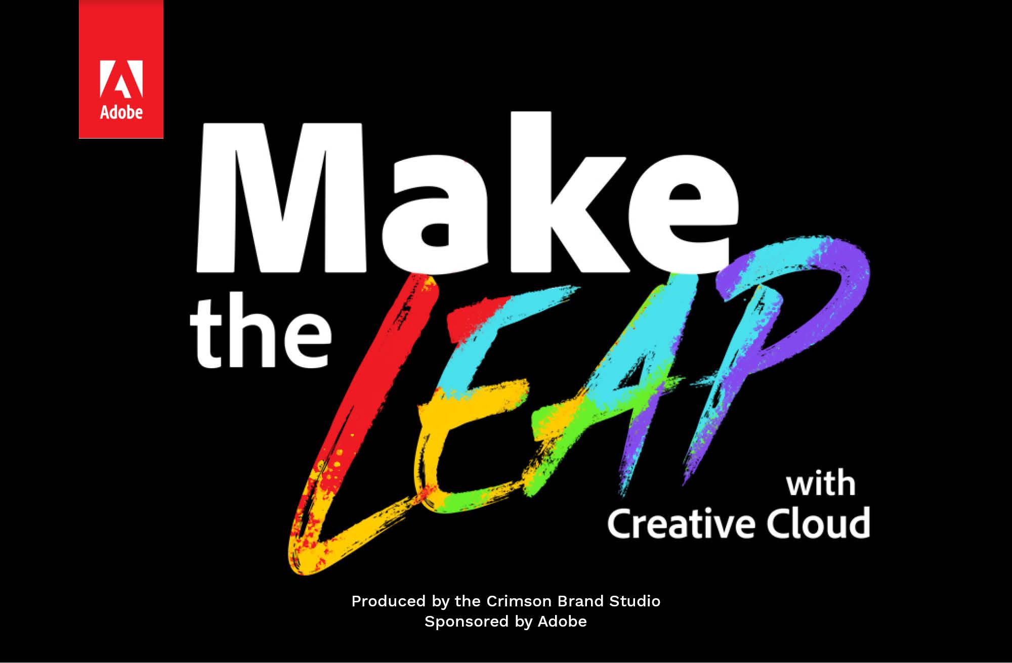 Adobe Make The Leap With Creative Cloud Sponsored The Harvard Crimson