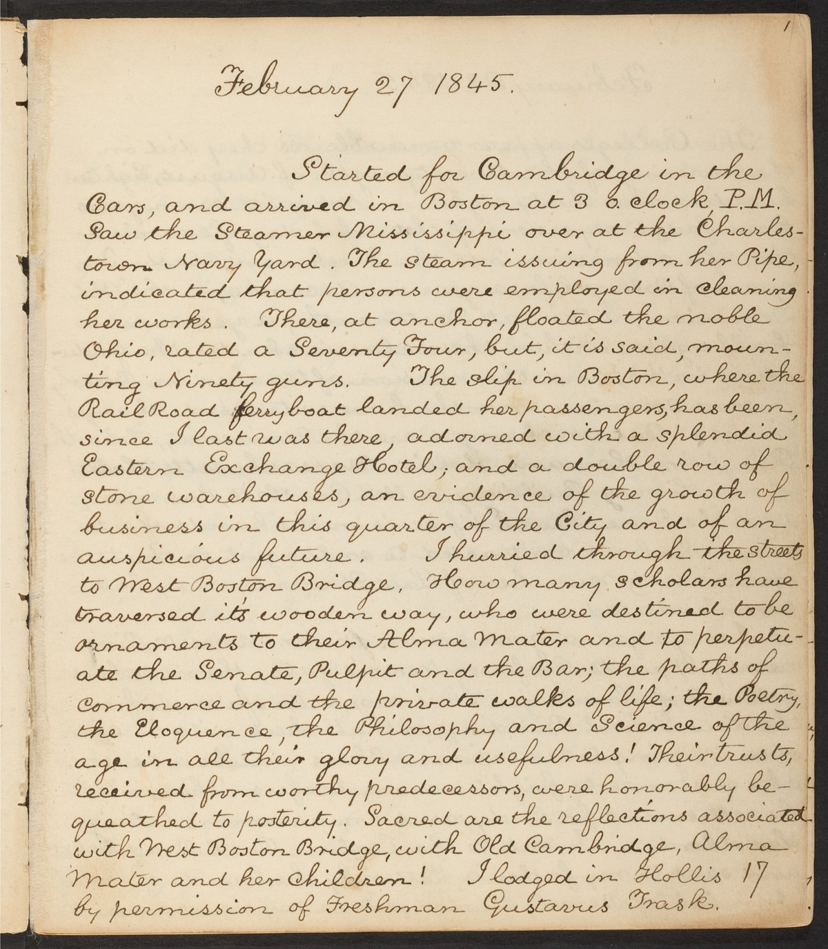 Nowak's Coronavirus Diary project was partly inspired by his struggle to find diverse student perspectives in Harvard's archives.
