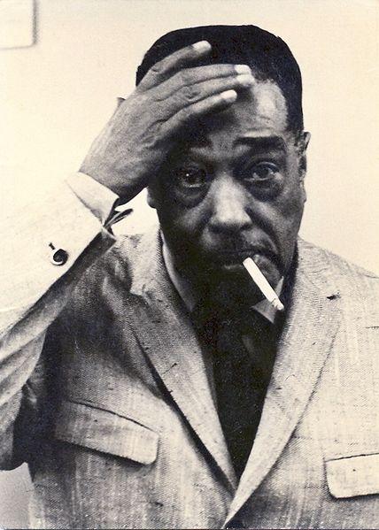 Duke Ellington during concert break in 1965.