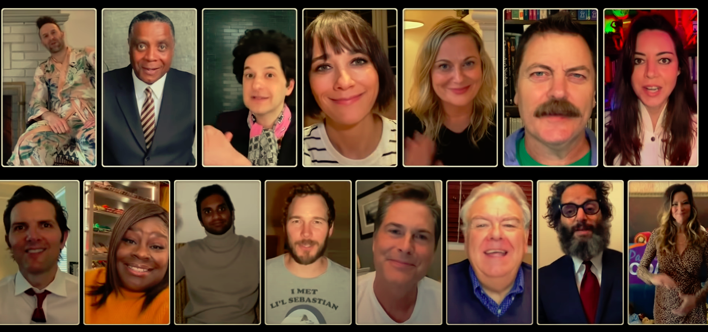 The 'Parks and Recreation' reunion brought together the show's main cast and many of its guest stars.