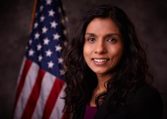 Monica Bharel is the Commissioner of the Massachusetts Department of Public Health.