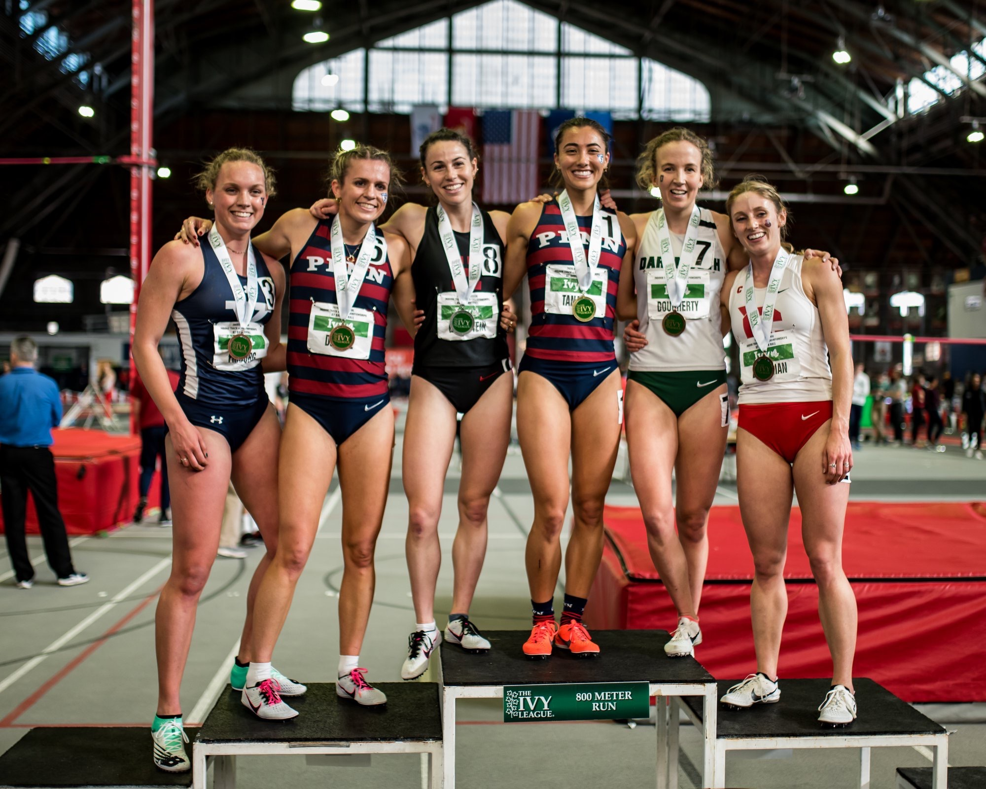 Goldstein made a couple of trips to the podium during the Ivy League Indoor Championships.