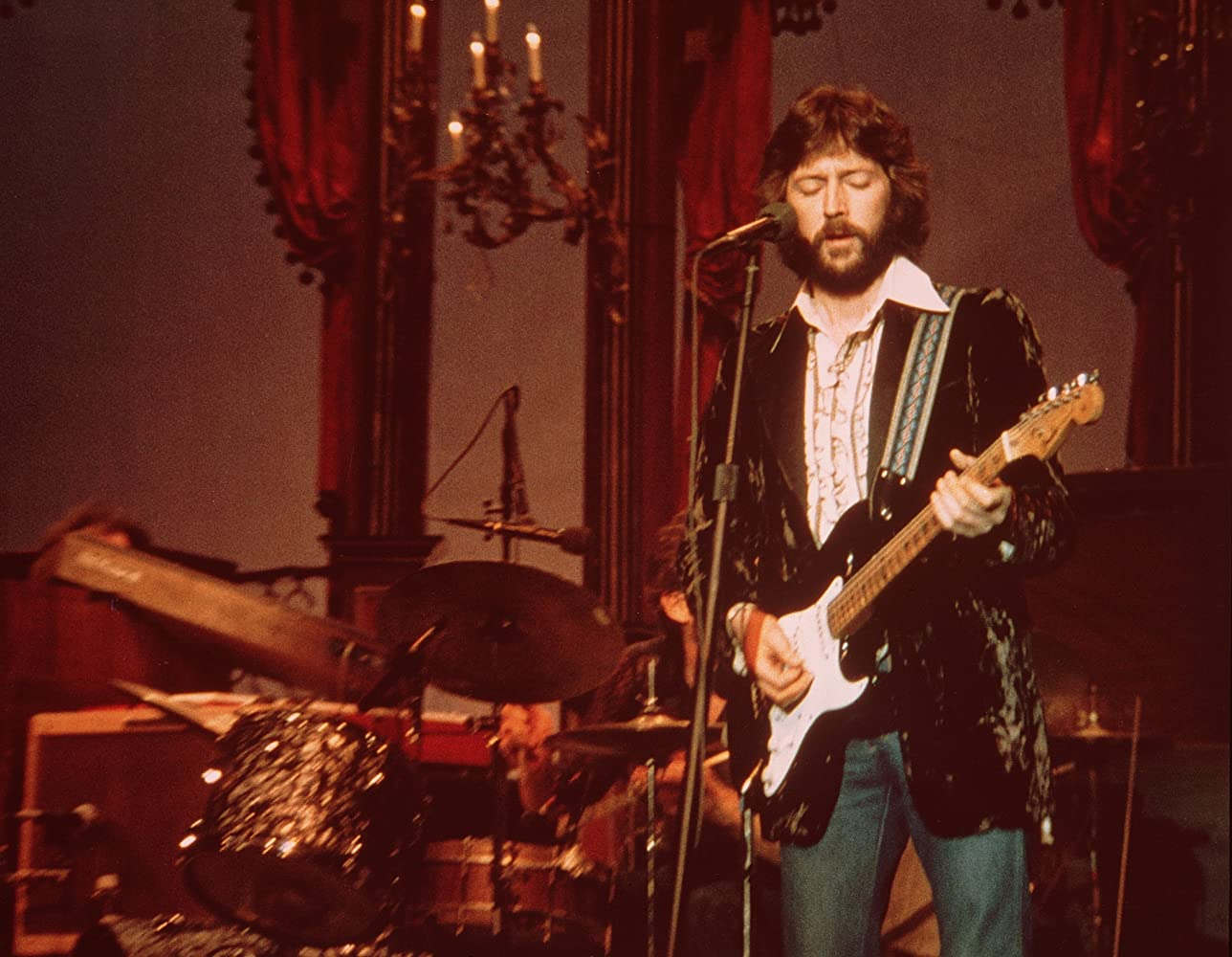 "Eric Clapton in ""The Last Waltz"" (1978), directed by Martin Scorsese"