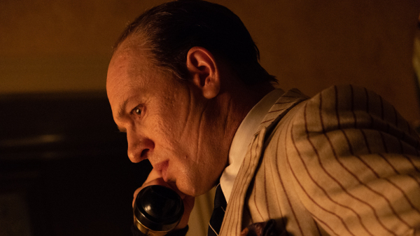 "Tom Hardy stars as Al Capone in ""Capone"" (2020), directed by Josh Trank."