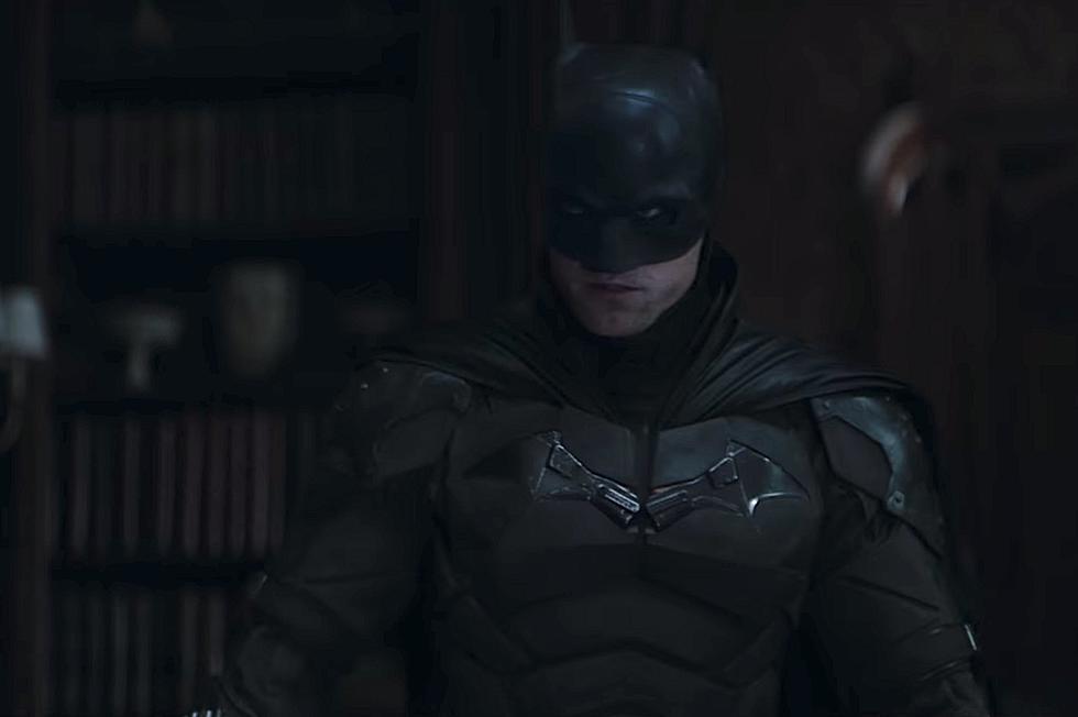 Robert Pattinson as the titular Batman in the upcoming film.
