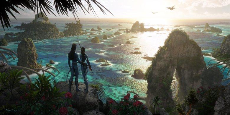 Concept art for 'Avatar 2.'