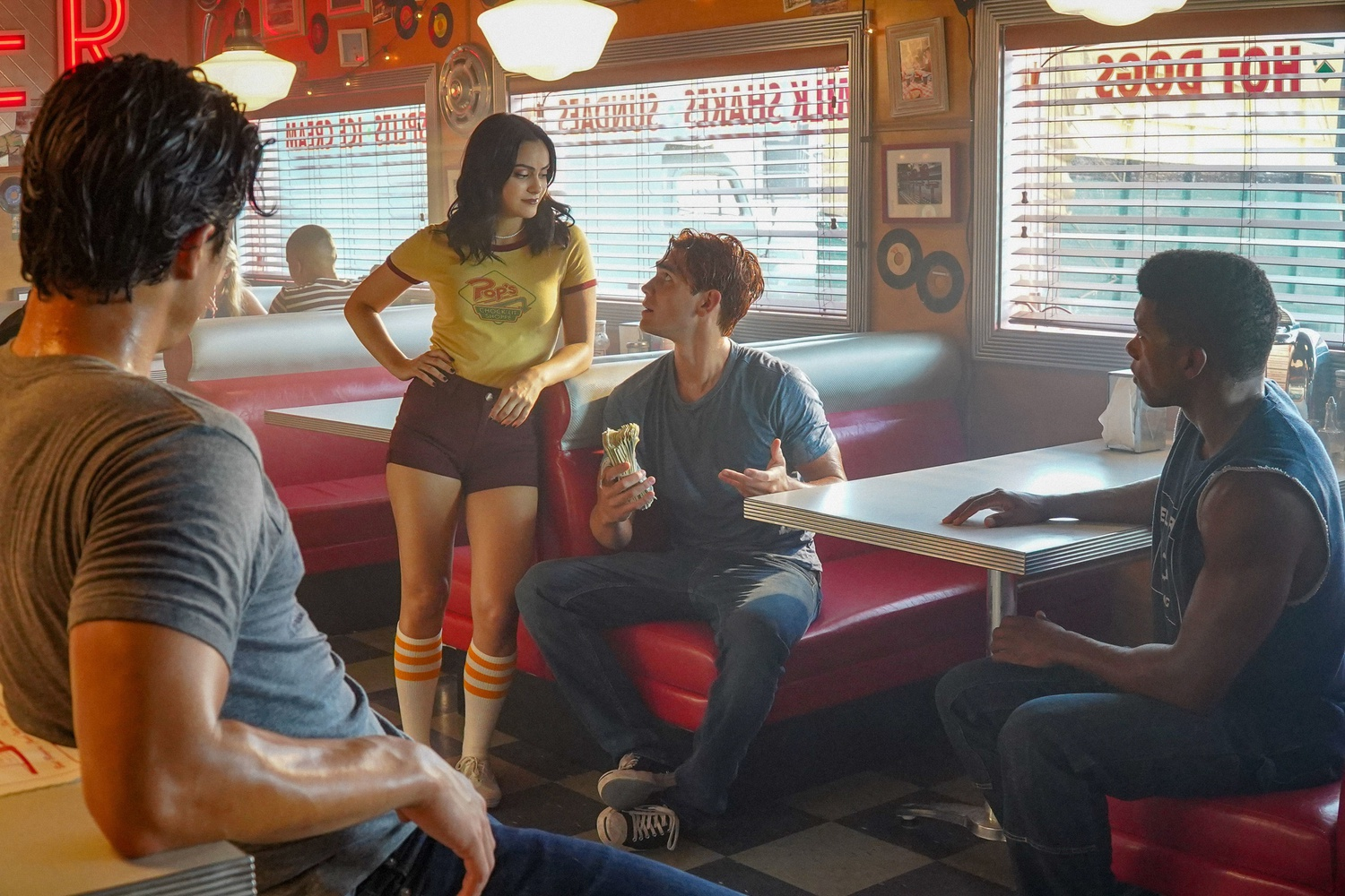 Production for the popular CW show, 'Riverdale,' has resumed despite the COVID-19 pandemic.