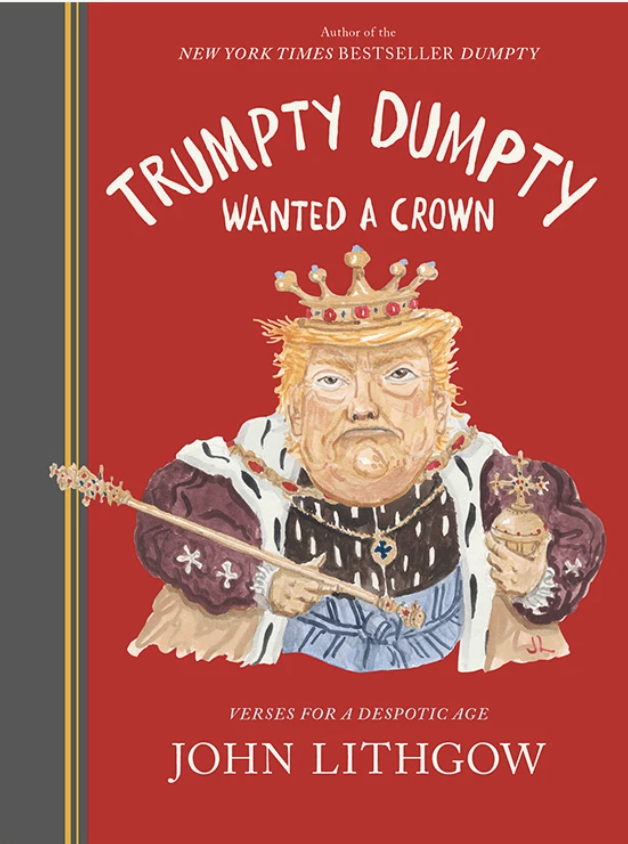 """Cover art """"Trumpty Dumpty Wanted a Crown."""""""