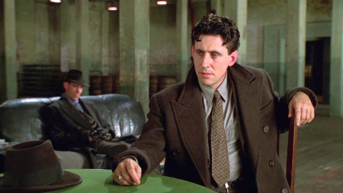 "Gabriel Byrne stars as Tom Reagan in ""Miller's Crossing"" (1990), directed by Joel and Ethan Coen."