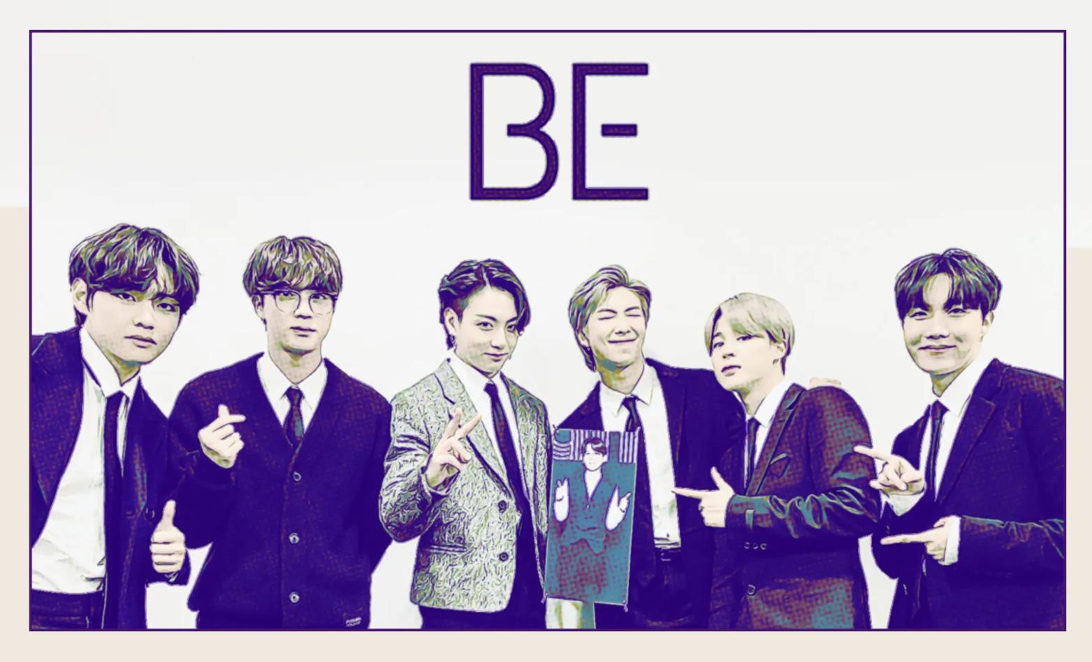 """Album art for BTS's """"BE"""""""