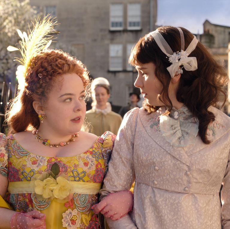Bridgerton Season 1 Penelope and Eloise Still
