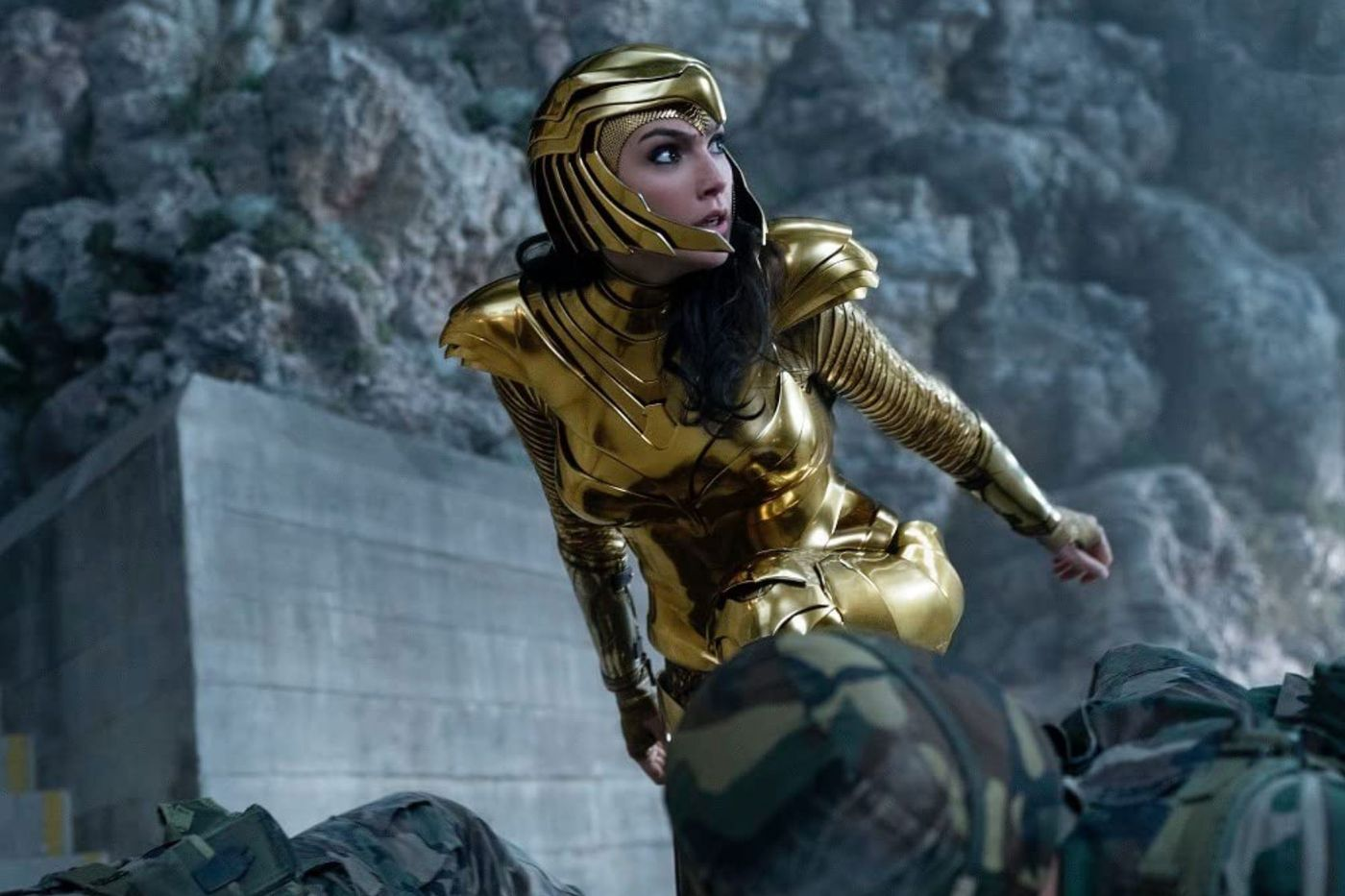 "Gal Gadot stars as Wonder Woman in ""Wonder Woman 1984."""